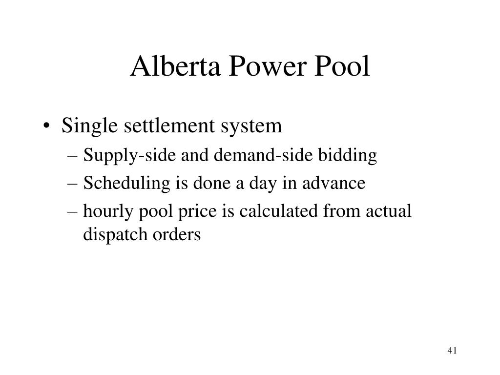 Alberta Power Pool
