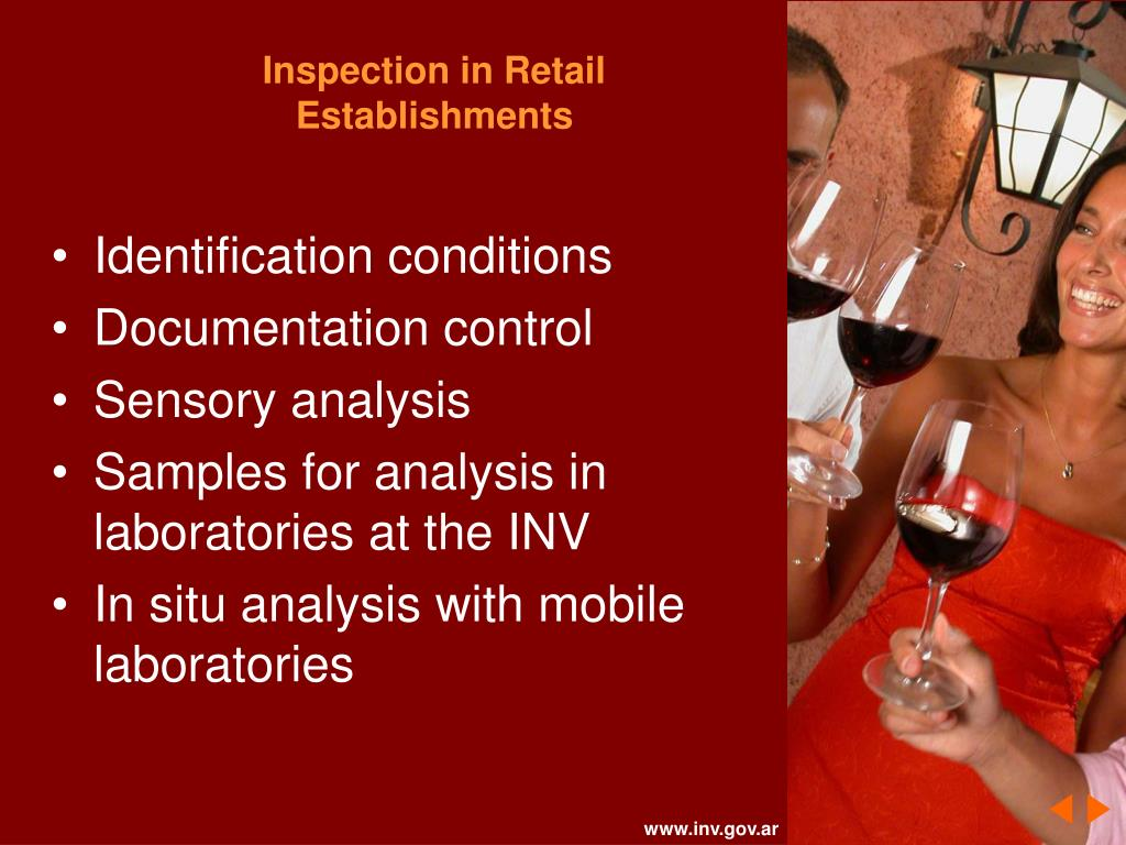 Inspection in Retail Establishments