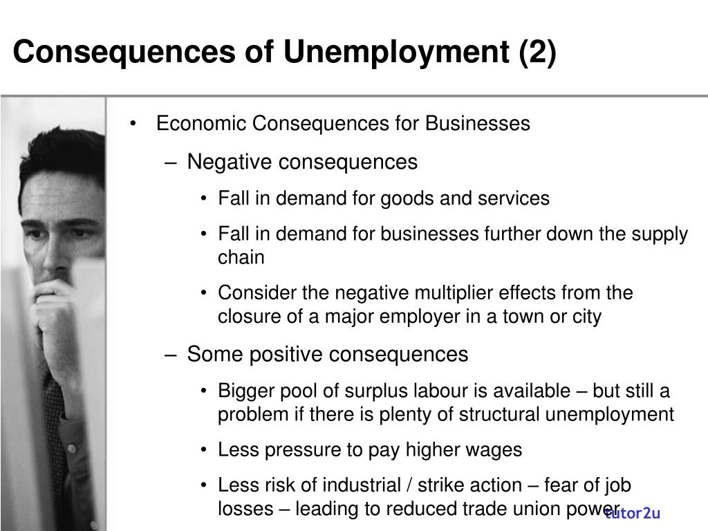 Consequences of Unemployment (2)