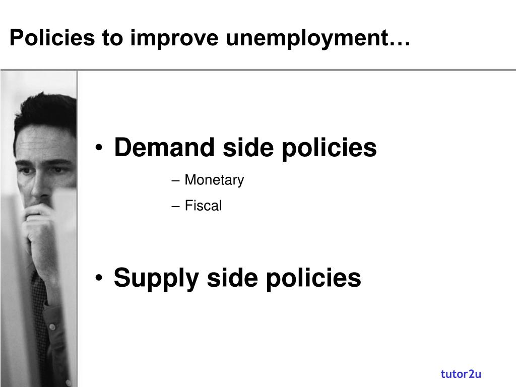 Policies to improve unemployment…