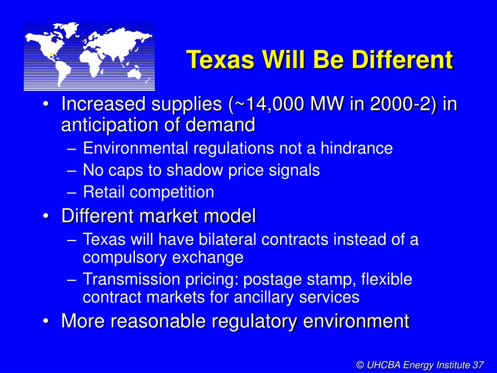 Texas Will Be Different