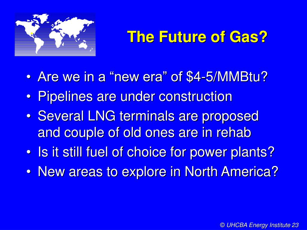 The Future of Gas?