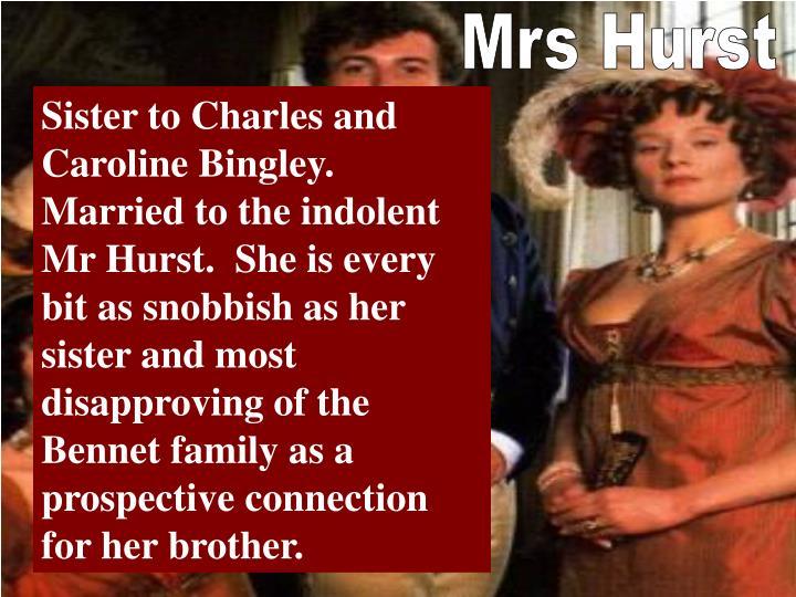 Mrs Hurst