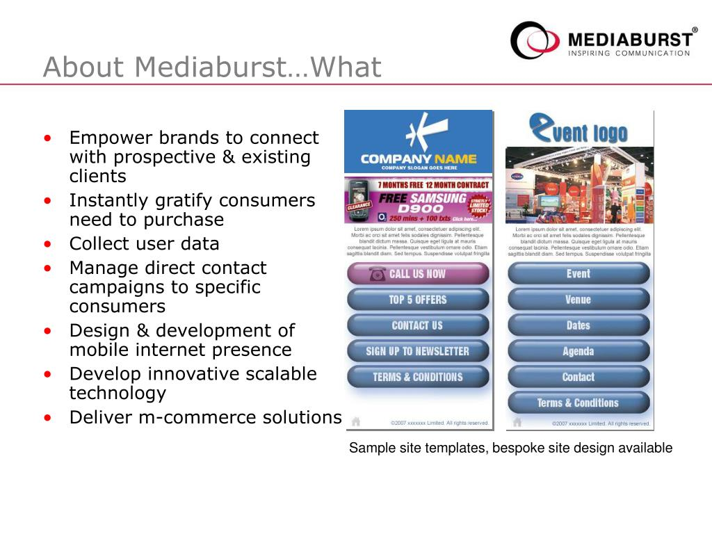 About Mediaburst…What
