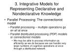 3 integrative models for representing declarative and nondeclarative knowledge3