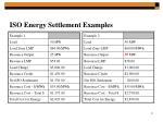 iso energy settlement examples