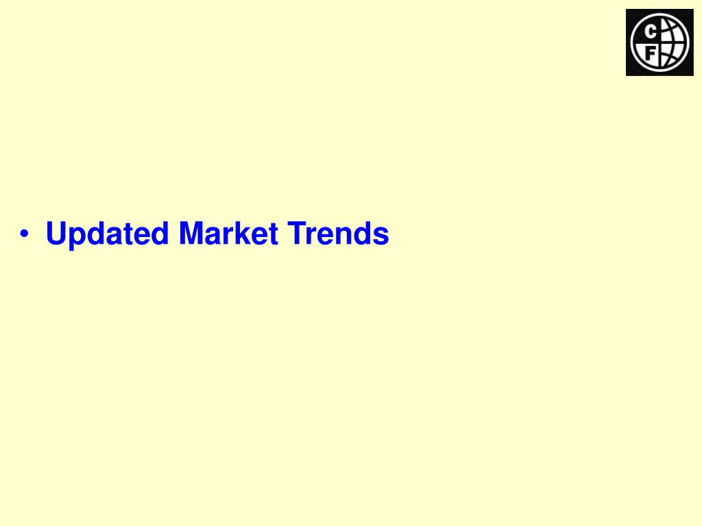 Updated Market Trends