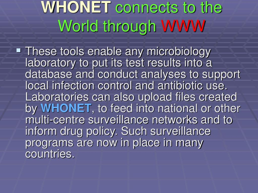 WHONET