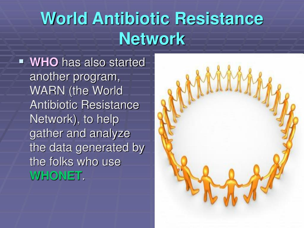 World Antibiotic Resistance Network