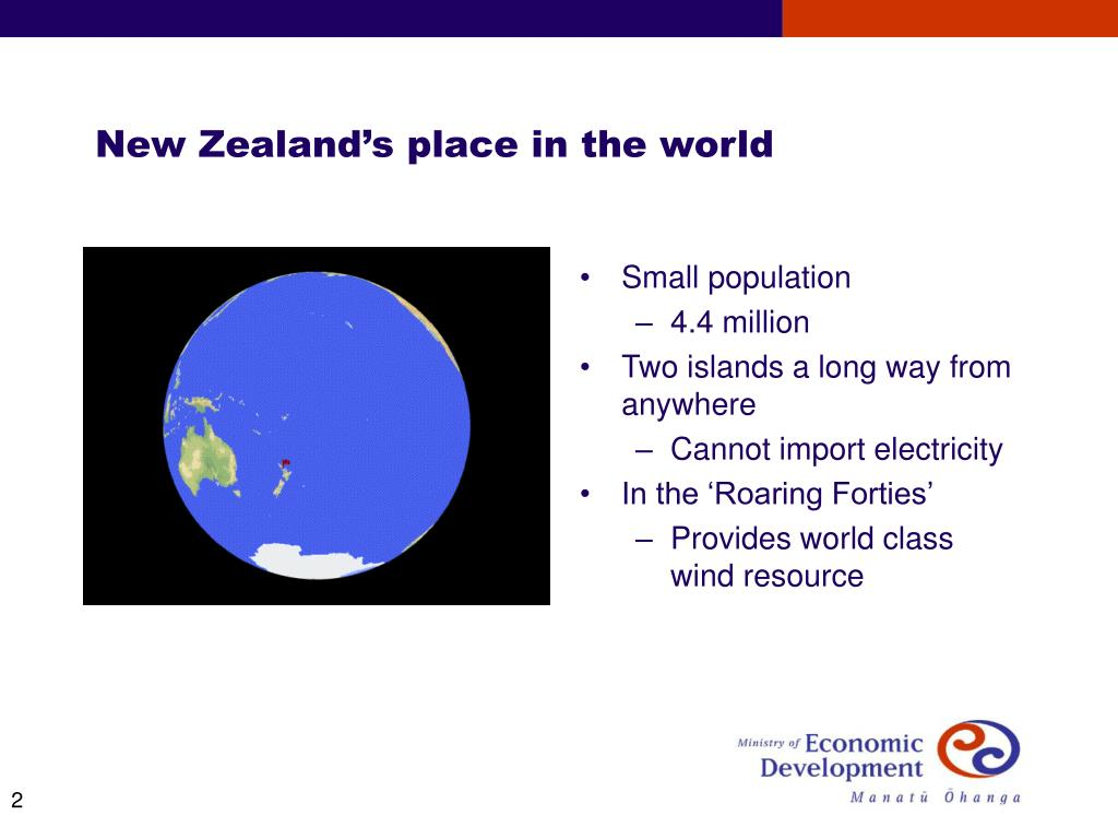 New Zealand's place in the world