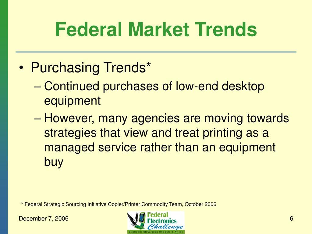 Federal Market Trends