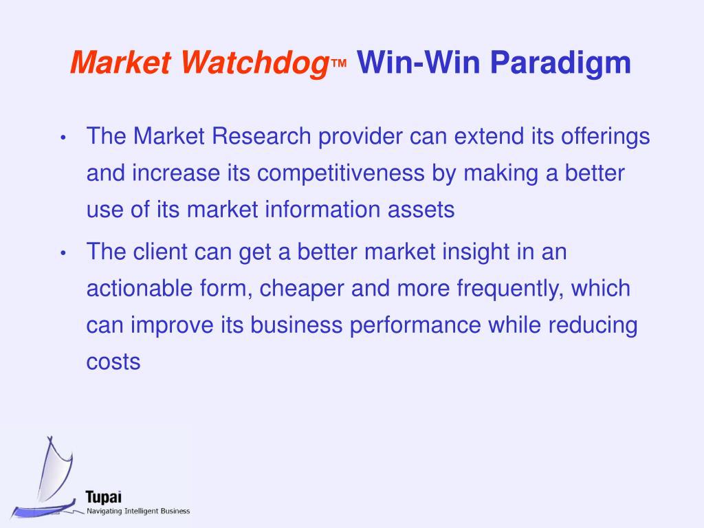 Market Watchdog