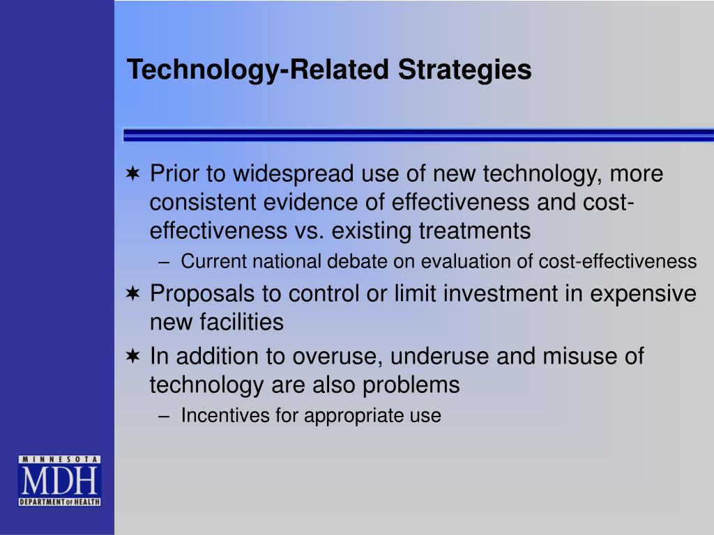 Technology-Related Strategies