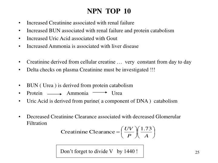 NPN  TOP  10