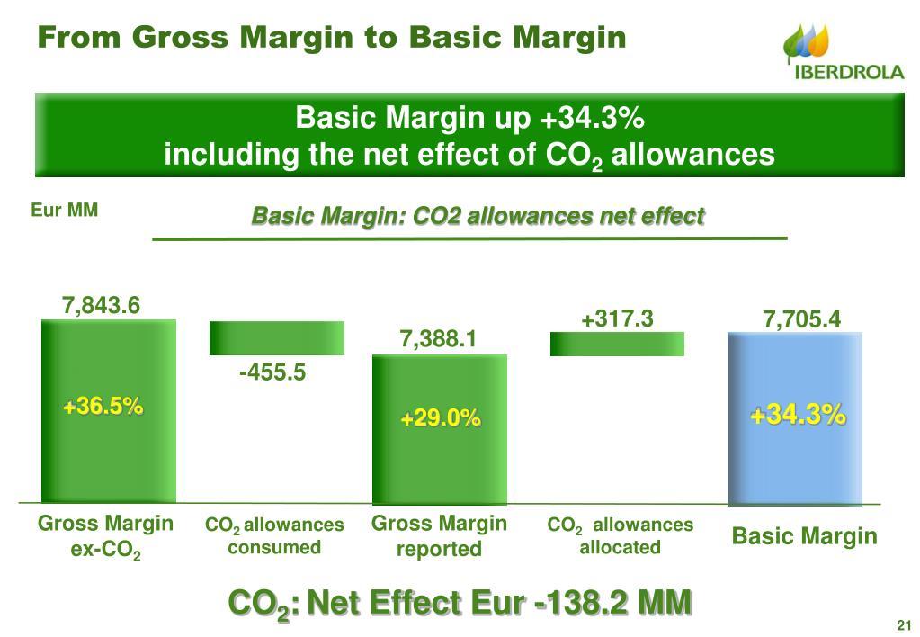 From Gross Margin to Basic Margin