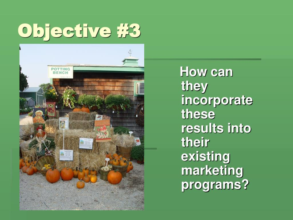 Objective #3