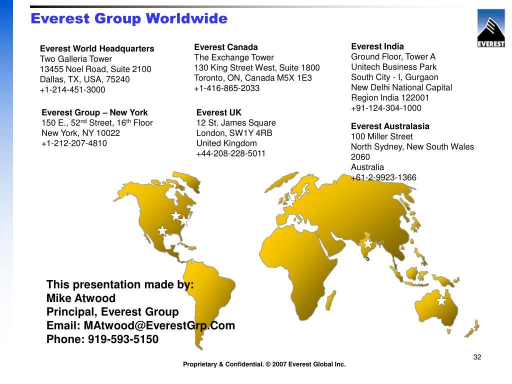 Everest Group Worldwide