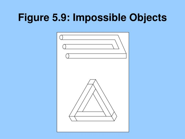 Figure 5.9: Impossible Objects