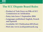 the icc dispute board rules1