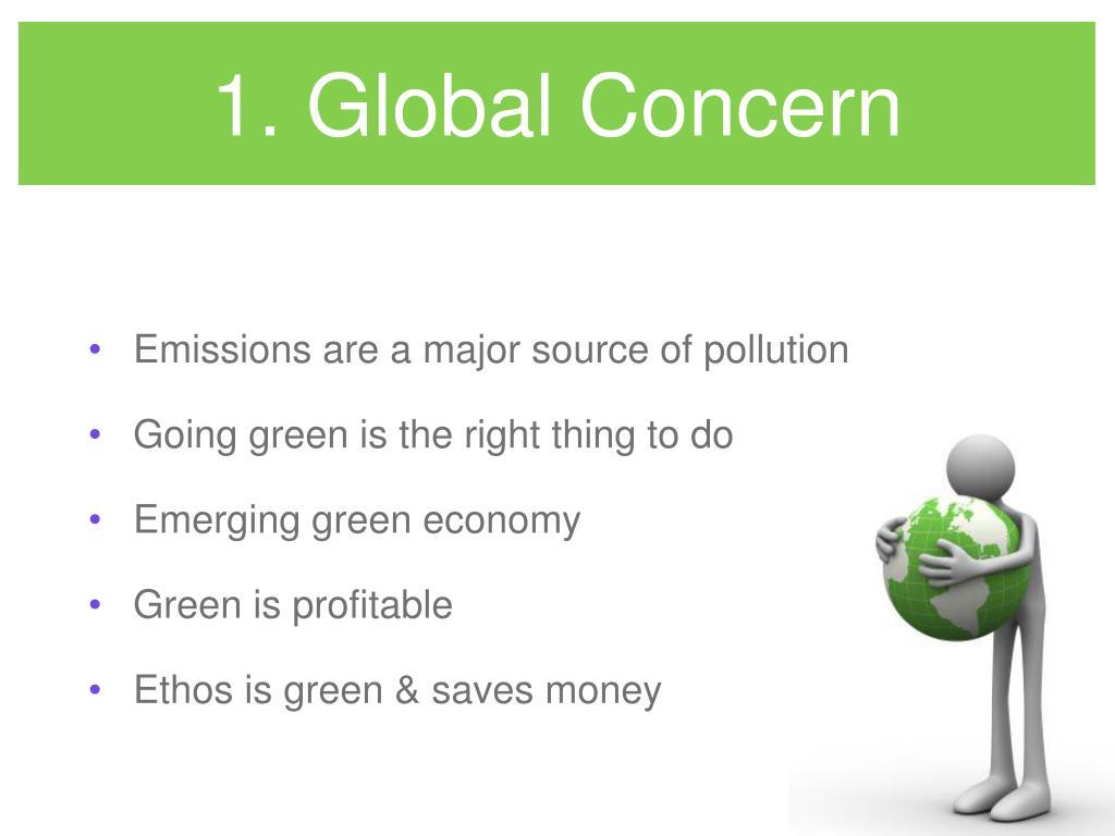 1. Global Concern