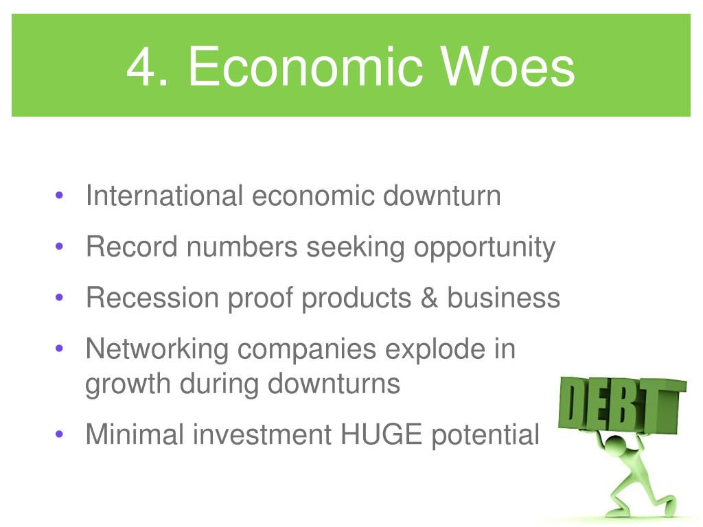 4. Economic Woes