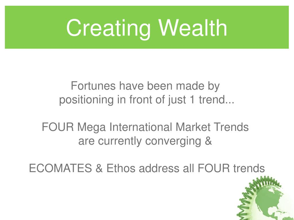 Creating Wealth