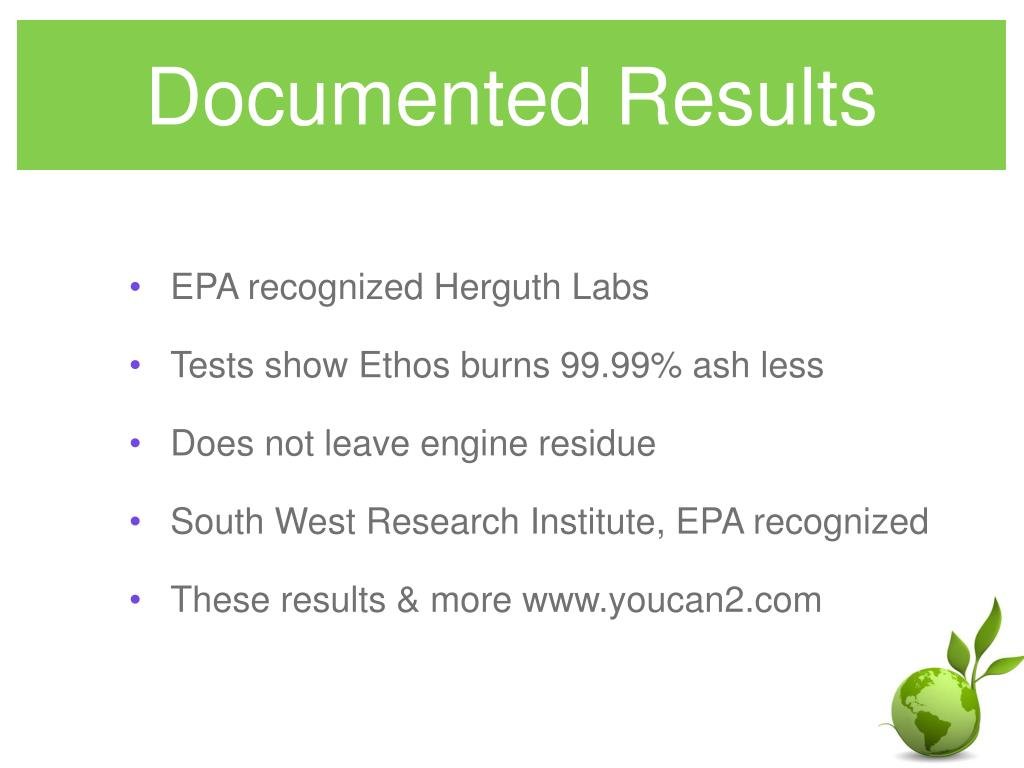 Documented Results