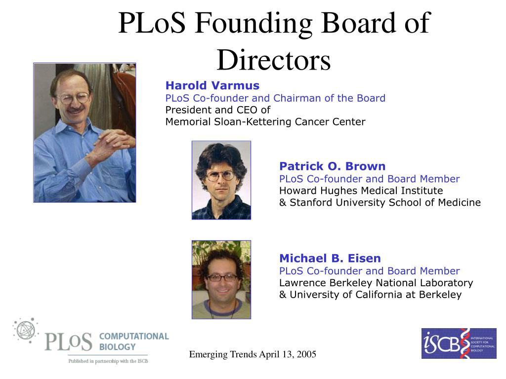 PLoS Founding Board of Directors