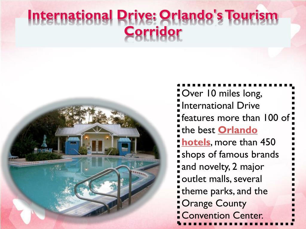 International Drive: Orlando's Tourism Corridor