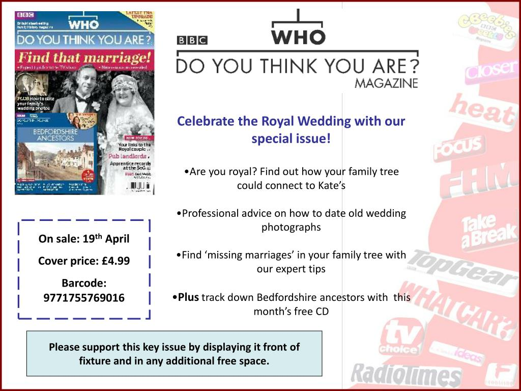 Celebrate the Royal Wedding with our special issue!