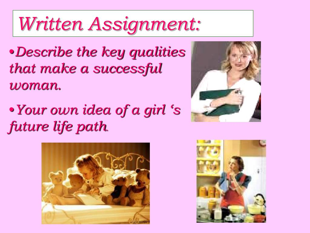 Written Assignment: