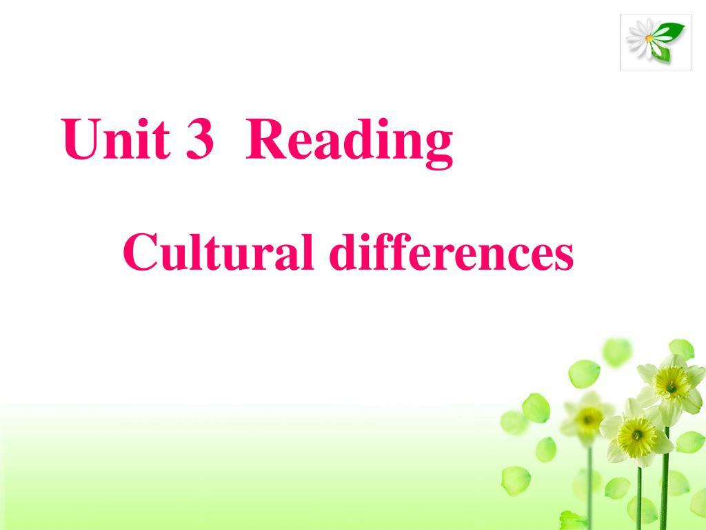 Unit 3  Reading