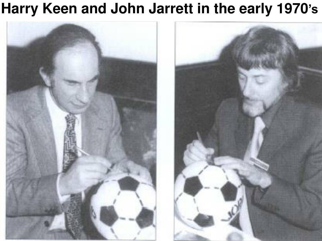 Harry Keen and John Jarrett in the early 1970