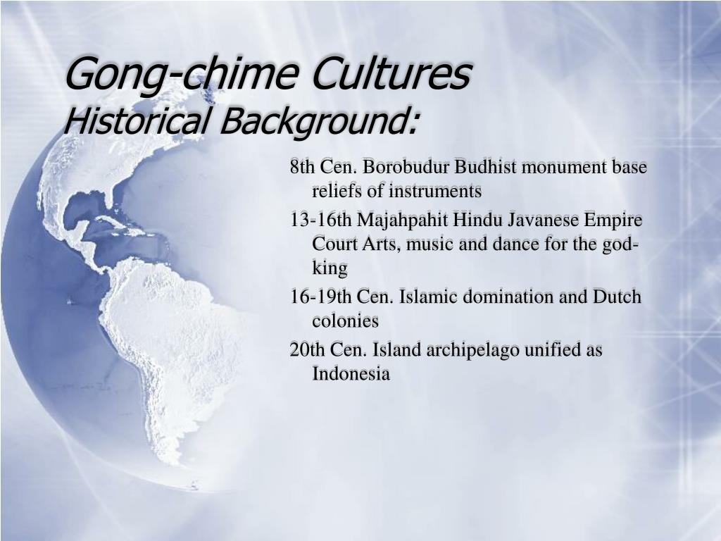 Gong-chime Cultures