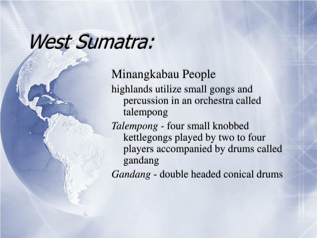 West Sumatra: