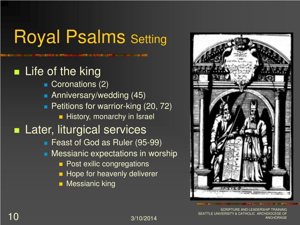 Royal Psalms