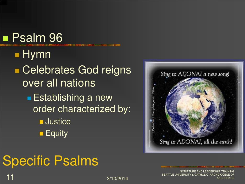 Specific Psalms