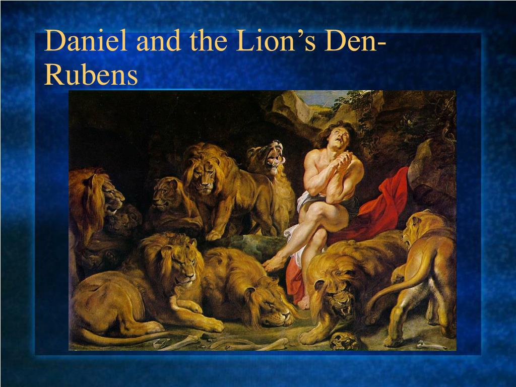 Daniel and the Lion's Den-Rubens