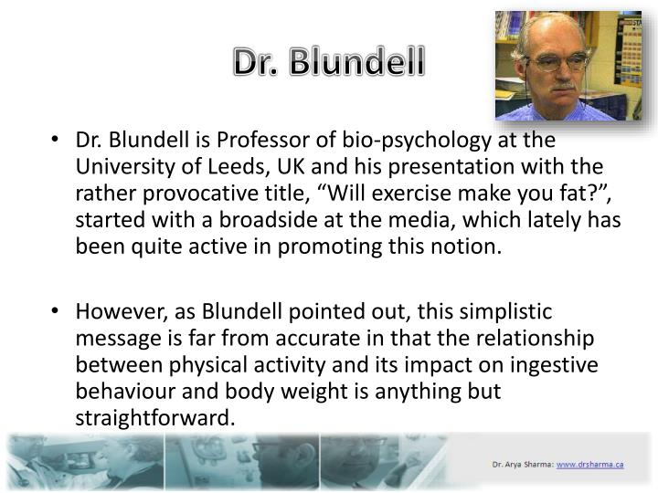 Dr blundell