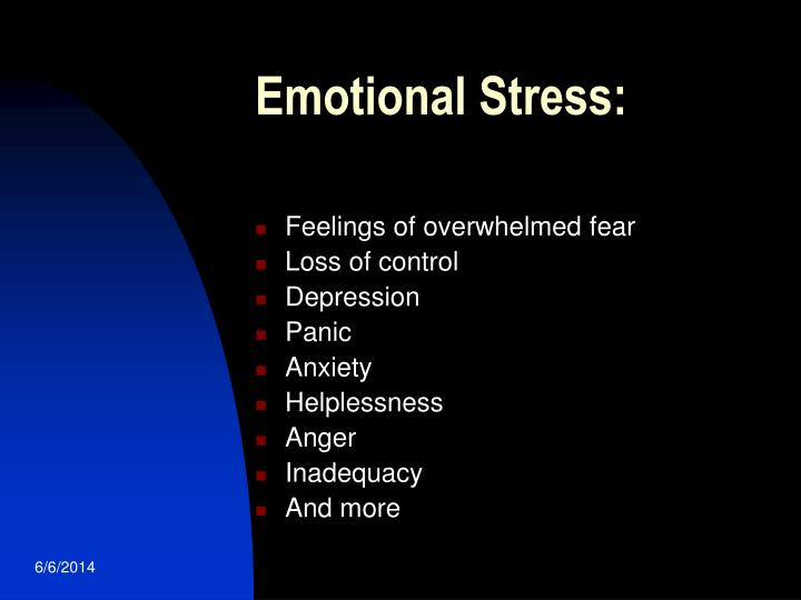 Emotional Stress: