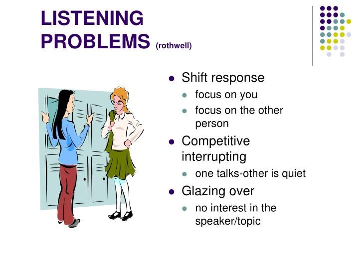 LISTENING PROBLEMS
