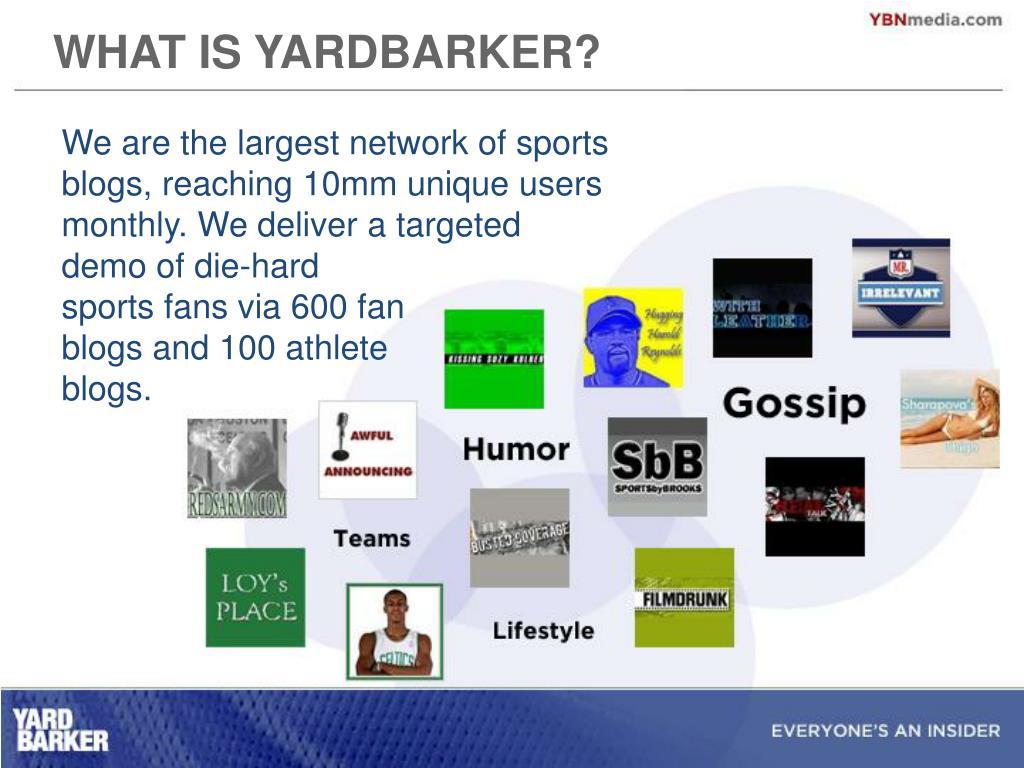 WHAT IS YARDBARKER?