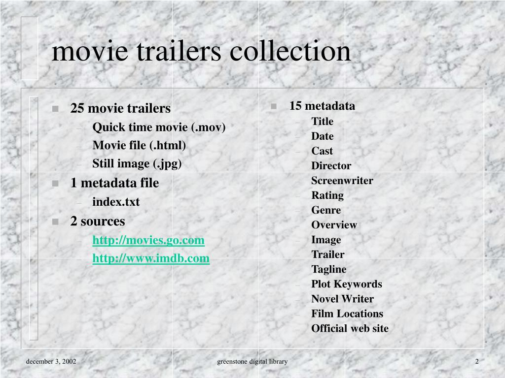 25 movie trailers