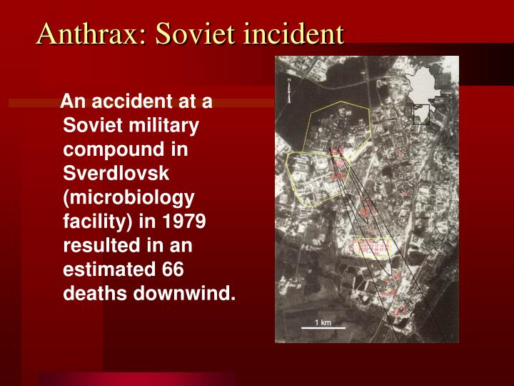 Anthrax: Soviet incident