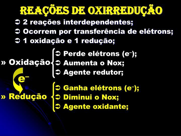 » Oxidação