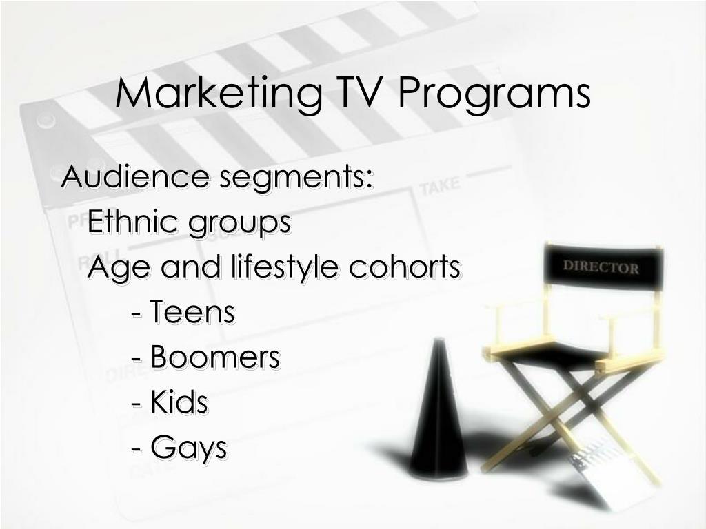 Marketing TV Programs