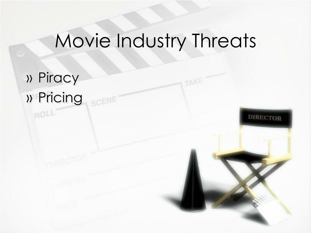 threats of the film industry Movie theaters and cinemas - comprehensive guide to market research and industry analysis including industry trends and statistics, financial ratios, salary surveys, and more.