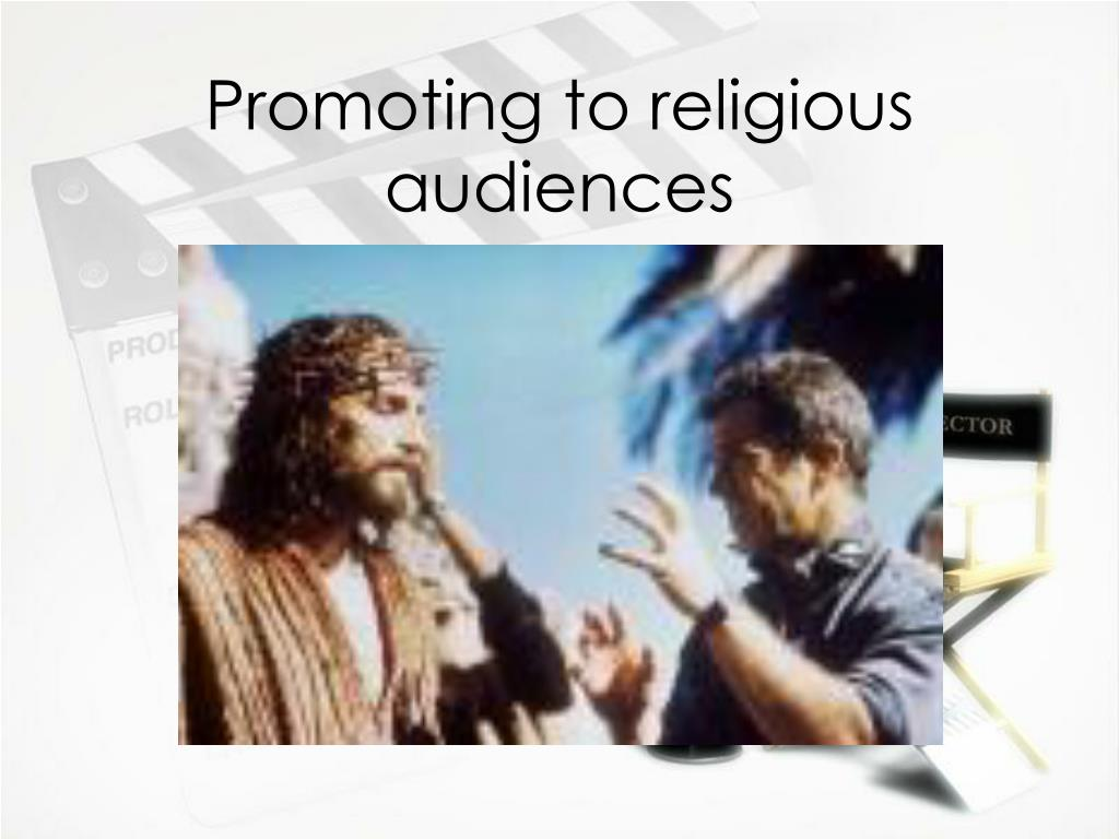 Promoting to religious audiences