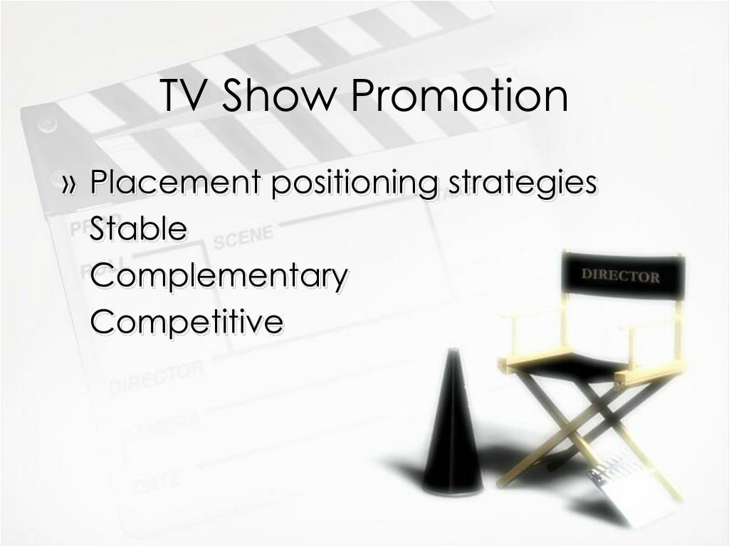 TV Show Promotion