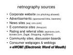netnography sources